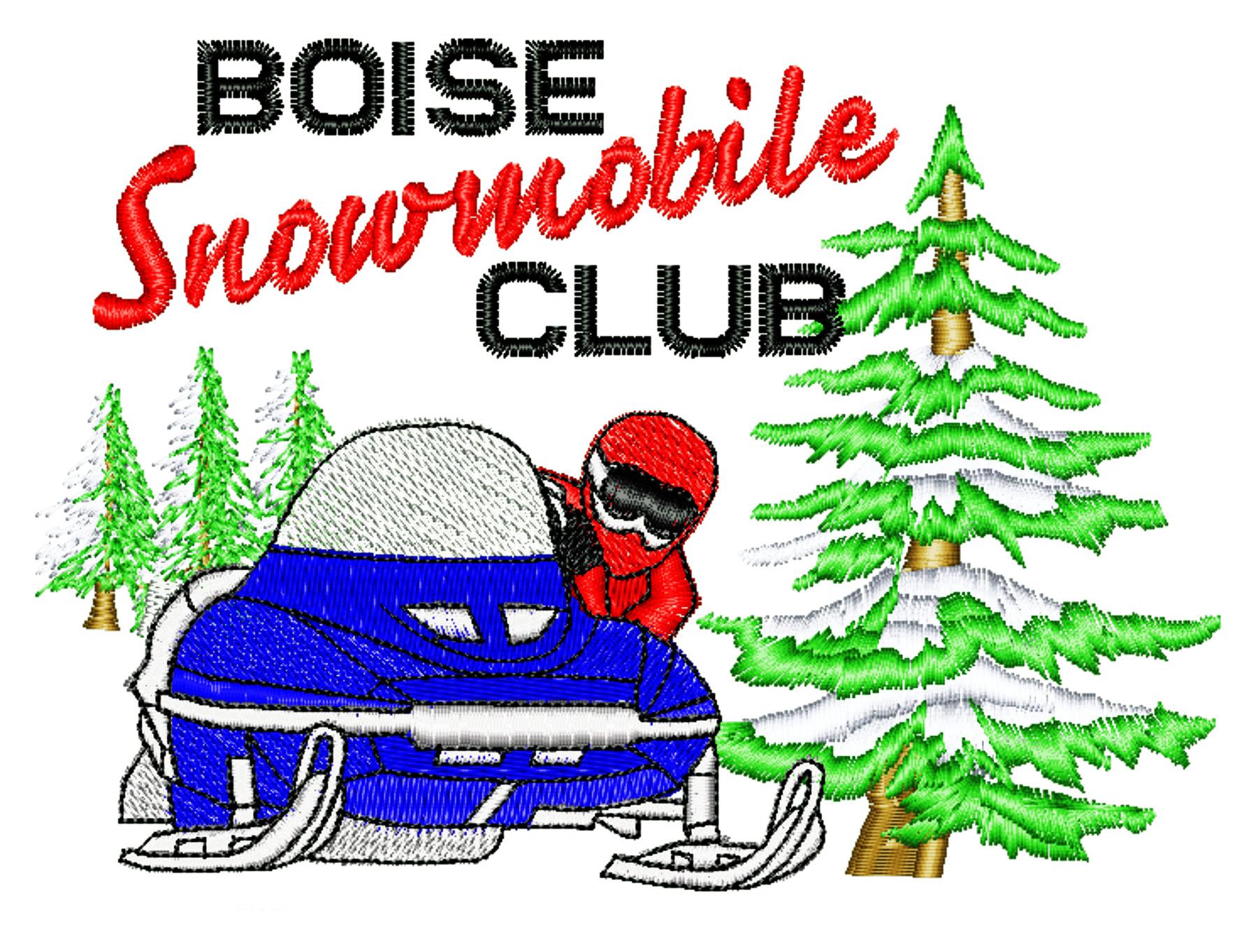 Snowmobile Trails Clip Art.
