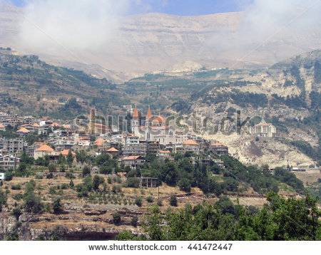 Mount Lebanon Stock Photos, Royalty.