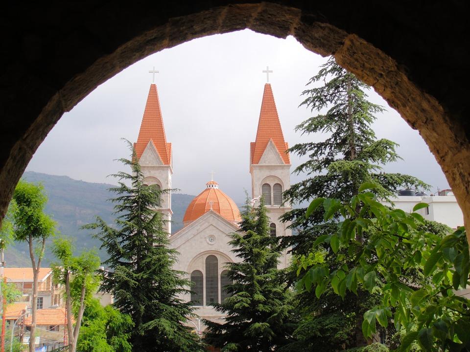 Free photo Church Arch Architecture Lebanon Bsharri Buildings.