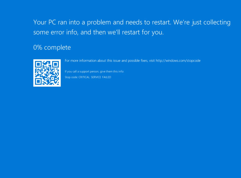Fix Blue Screen of Death BSOD.