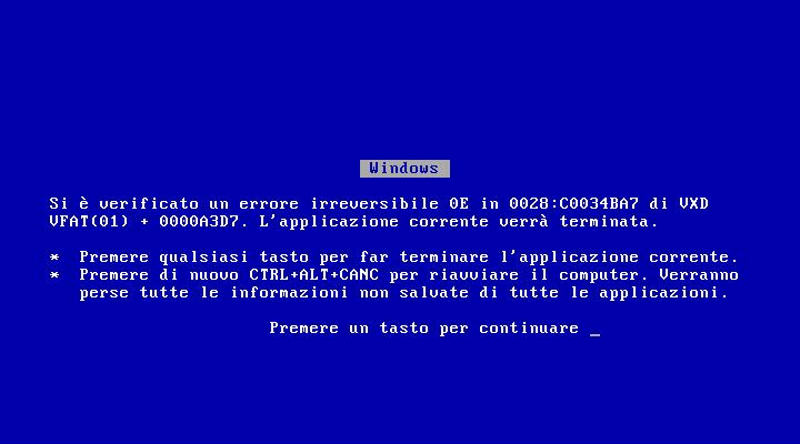 File:Windows 95 OSR2.5 BSOD ita.png.