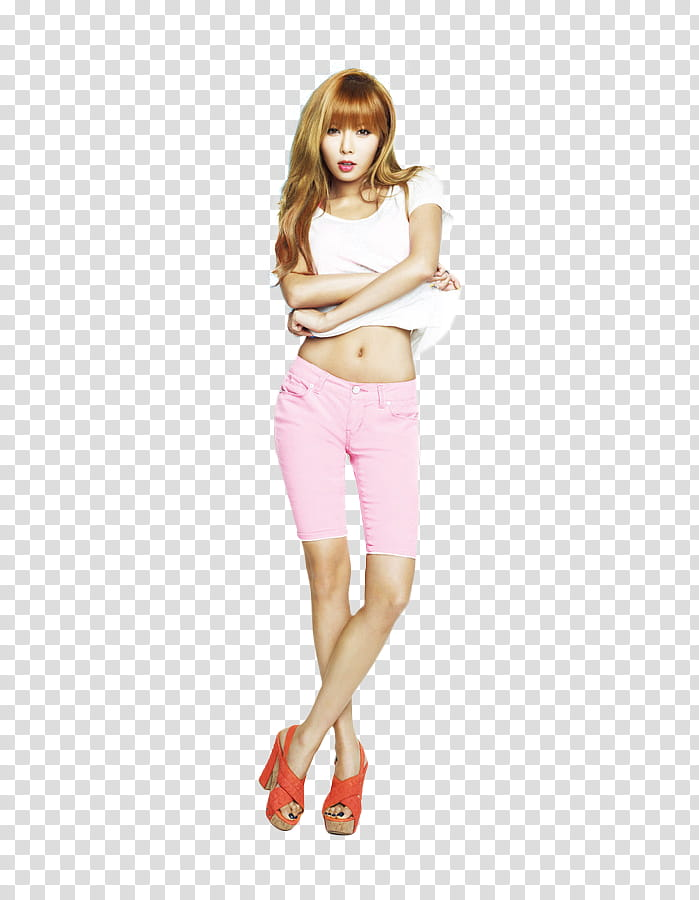 Hyuna BSP transparent background PNG clipart.