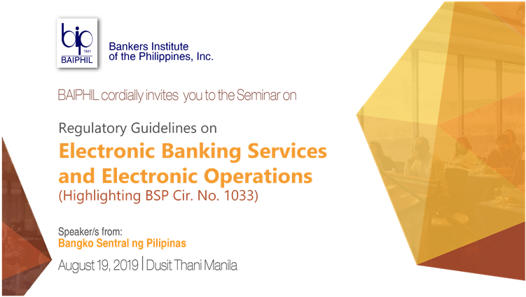 Regulatory Guidelines on Electronic Banking Services and Electronic.