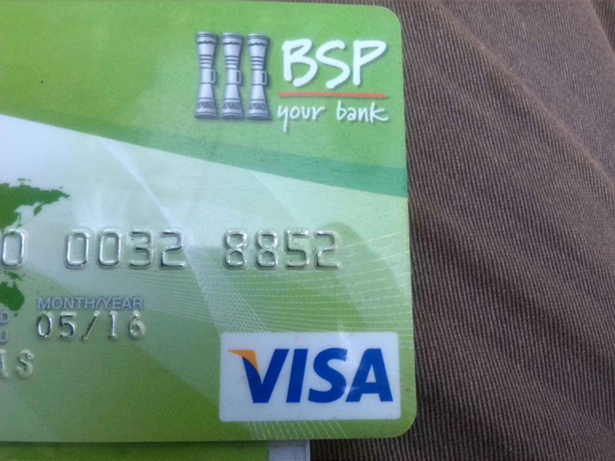 How To Shop Online With BSP Bank Visa Card.