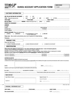 Bsp Kundu Card Online Info.