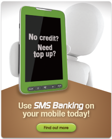 SMS Banking.