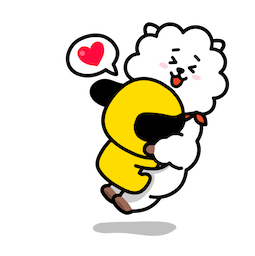Facebook / Messenger BT21 Absolute Charm stickers. Free download.