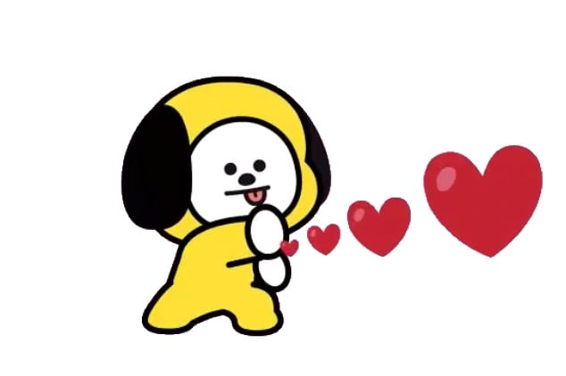 BT21 chimmy png ❤️ shared by sharlenea on We Heart It.