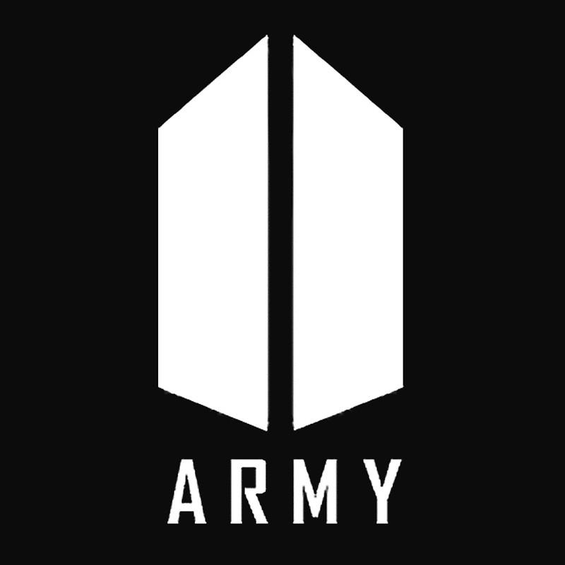 BTS ARMY White Logo.