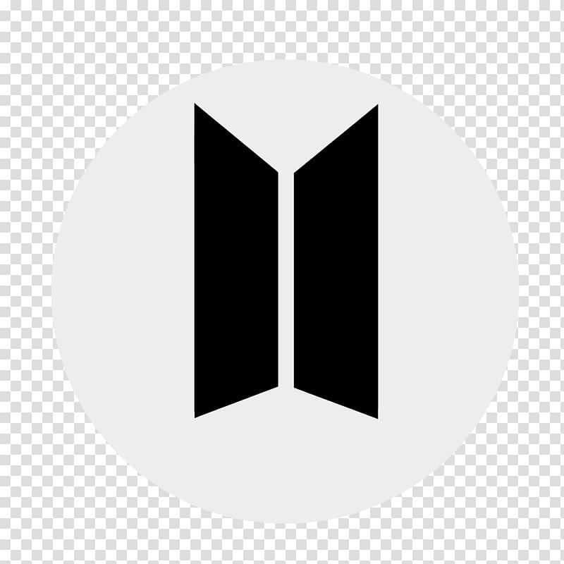 Two black stripe logo, BTS T.