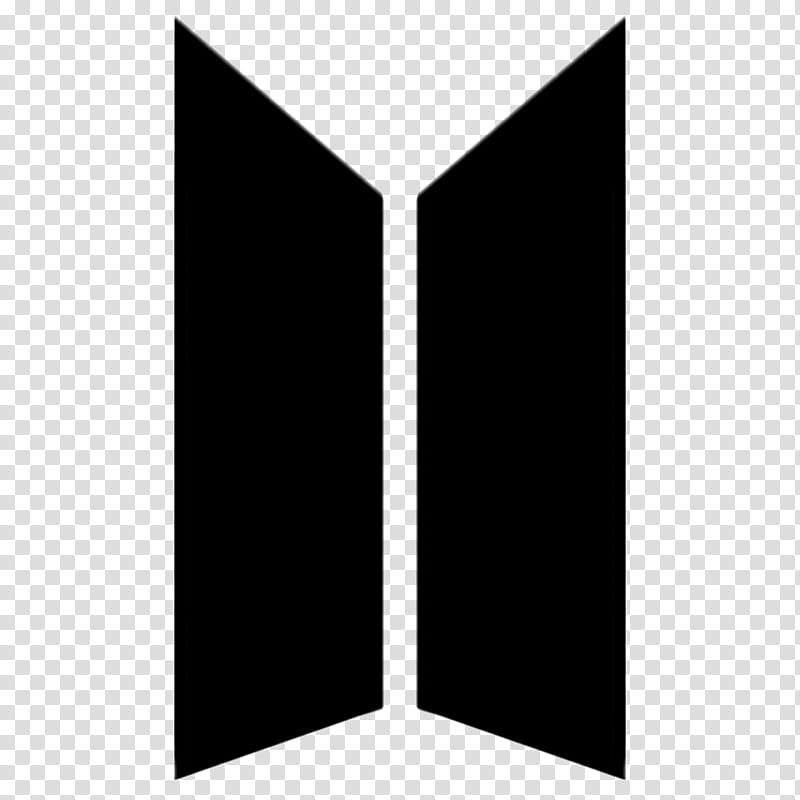 BTS New Logo BTSxARMY Version , black logo transparent.