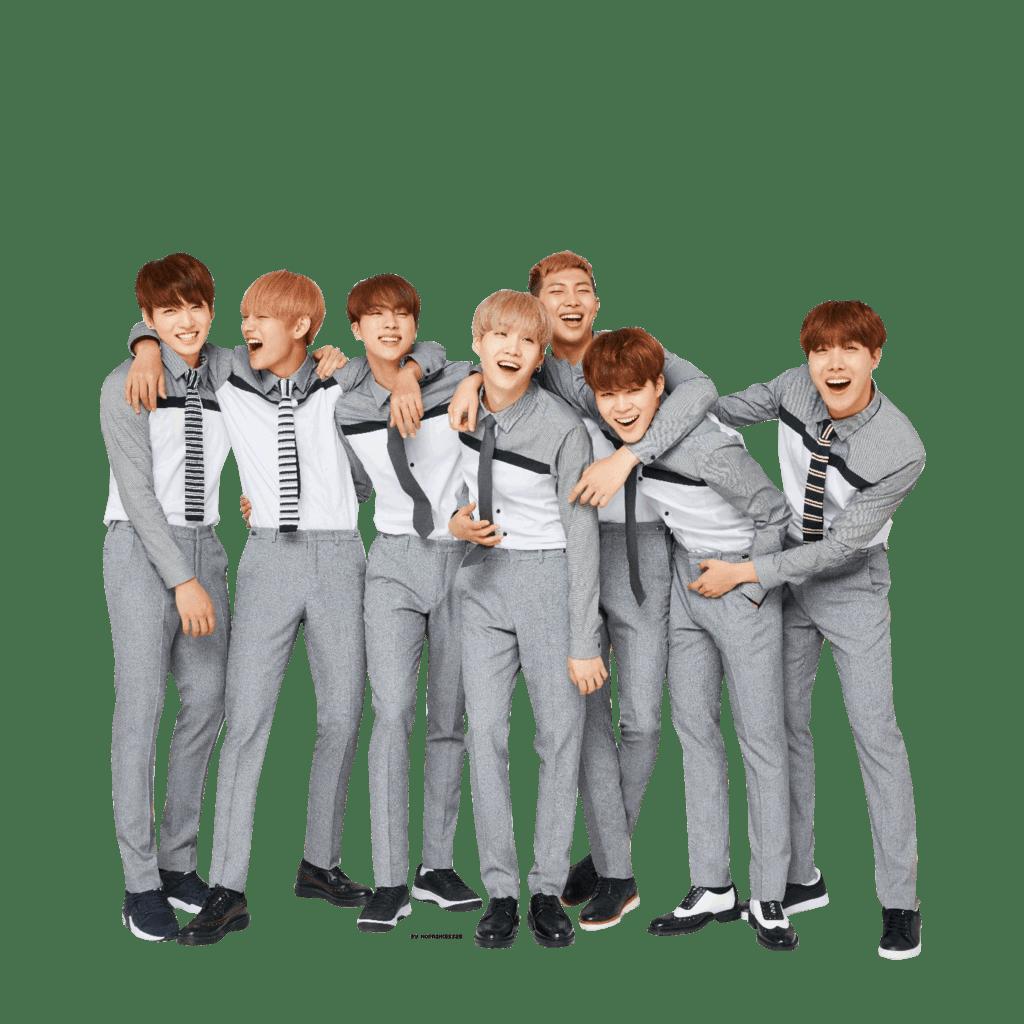 BTS Grey Clothing transparent PNG.