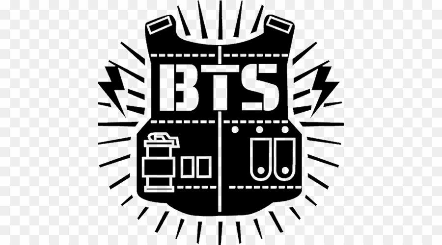 Bts Logo And Group PNG Bts K.