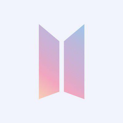 BTS new logo uploaded by eylem *^* on We Heart It.