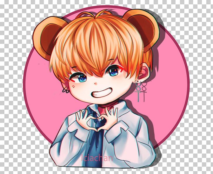BTS Sticker Anime K.