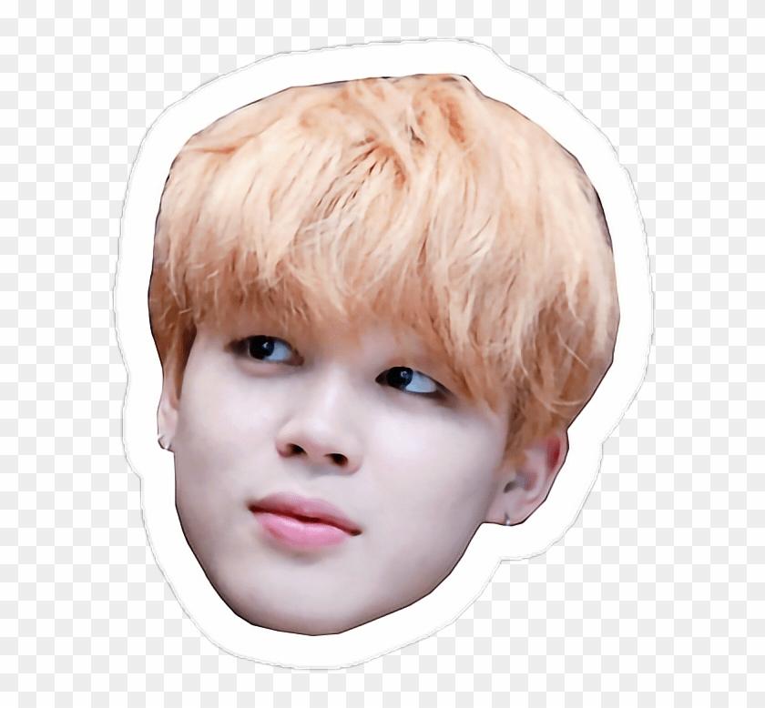 Bts Jimin Face Sticker, HD Png Download.
