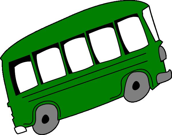 Green Bus Clip Art at Clker.com.
