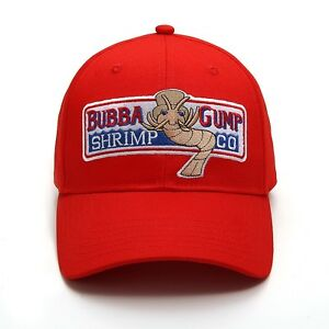 Details about BUBBA GUMP SHRIMP CO. Baseball Cap Embroidered Hat Forrest  Gump Costume.