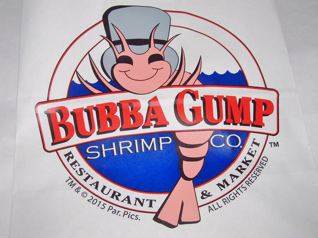 Bubba Gump Shrimp Company Logo Bag.
