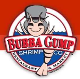 Logo for Bubba Gump Shrimp Co. in Daytona Beach Florida.