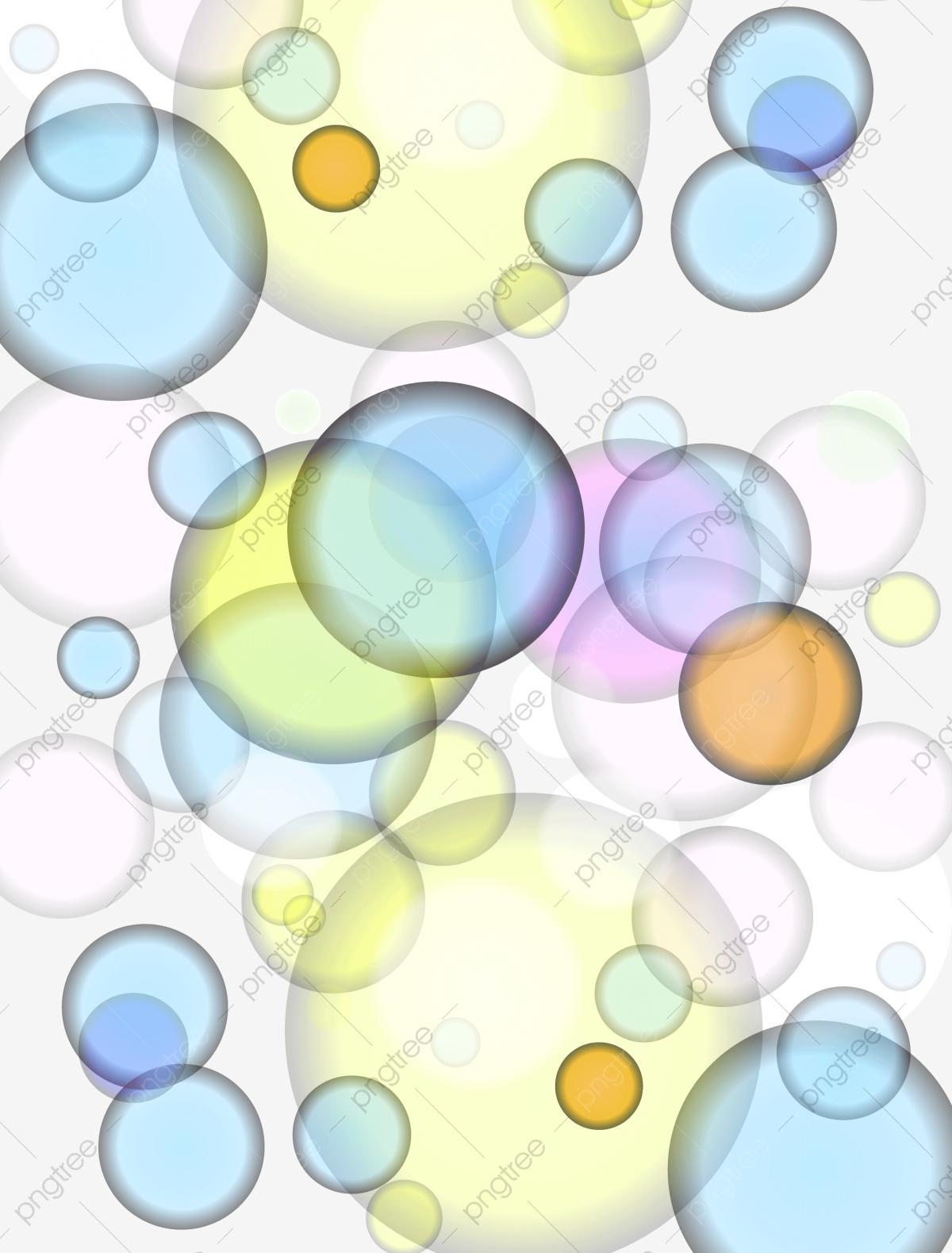 Colored Bubbles Background, Bubbles Clipart, Color, Bubble PNG.