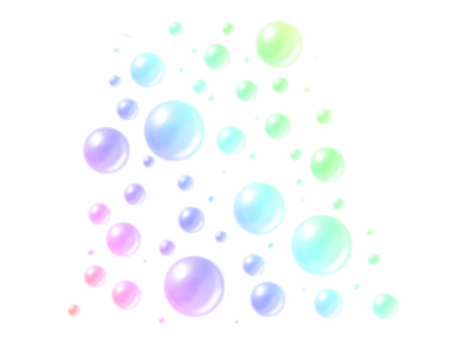 Colorful Bubbles Png.