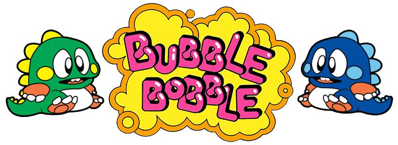 Let's appreciate BUBBLE BOBBLE series!.