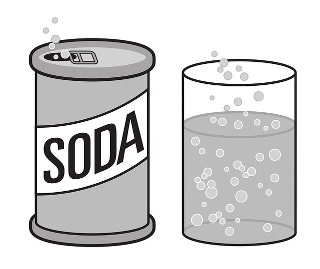 Free vector graphic: Tin, Can, Soda, Bubbles.