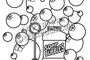 Bubbles clipart black and white 1 » Clipart Portal.