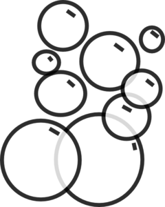 Bubbles Png Black And White & Free Bubbles Black And White.png.