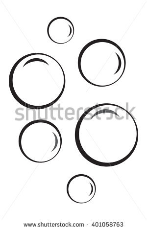 Bubble clipart black and white 2 » Clipart Station.