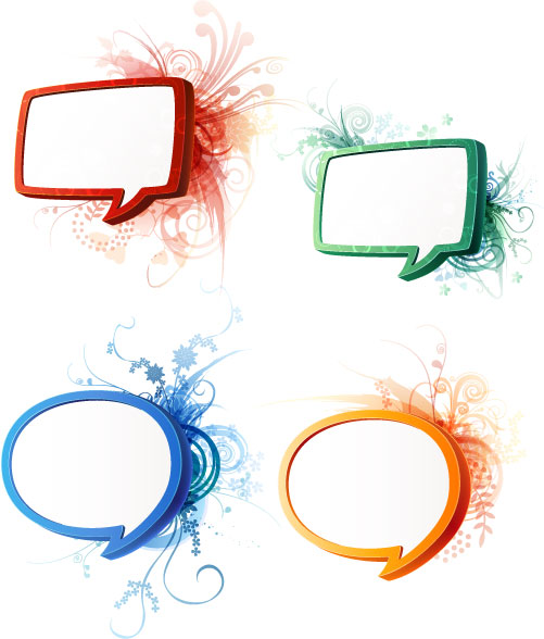 Speech Bubbles Photoshop.