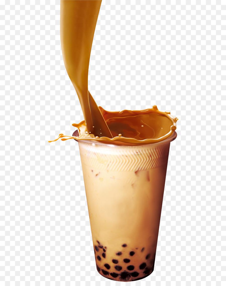 Milk Tea Background png download.