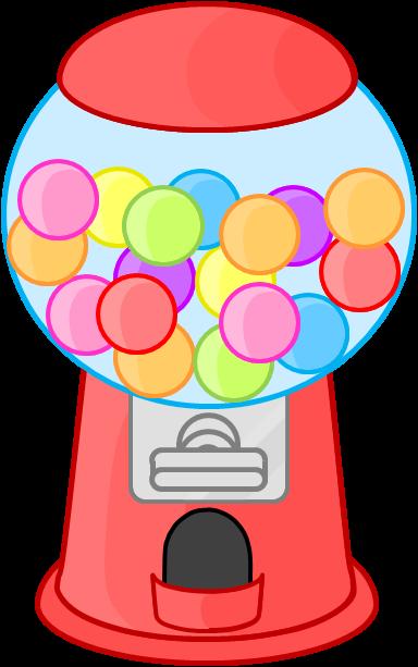 Gumball Machine Clipart.