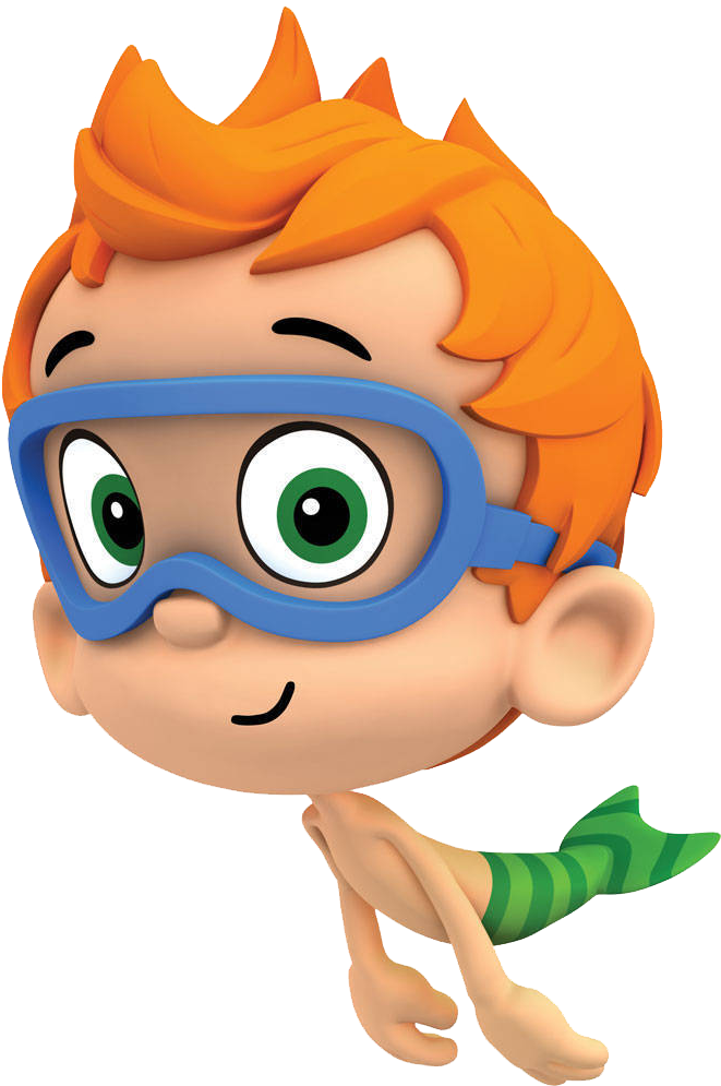 Characters Clipart Bubble Guppies Banner Black And.