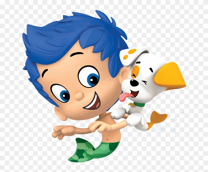 Bubble Guppies Gil And Puppy.