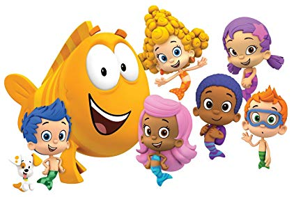 Bubble Guppies Edible Cake Topper Frosting 1/4 Sheet Birthday Party.
