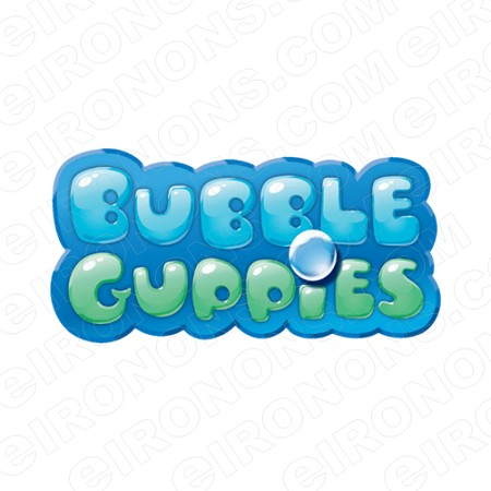 BUBBLE GUPPIES DIGITAL LOGO CLIPART PNG IMAGE SCRAPBOOK.