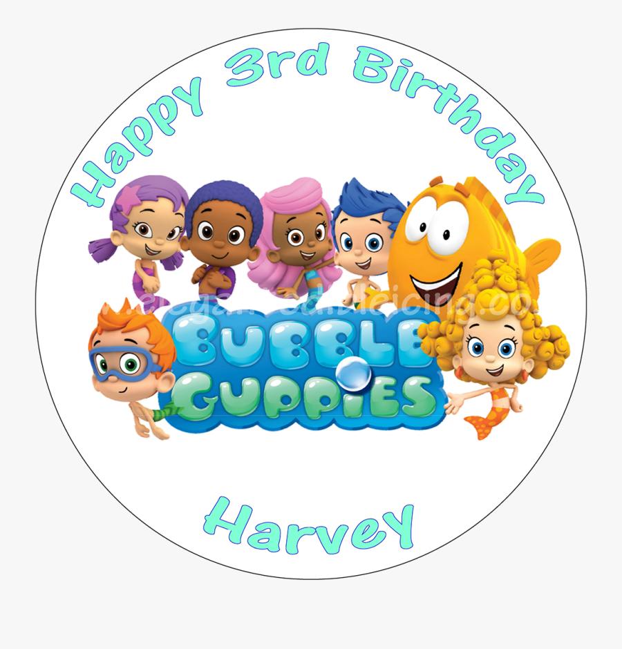 Bubble Guppies Logo Png , Free Transparent Clipart.
