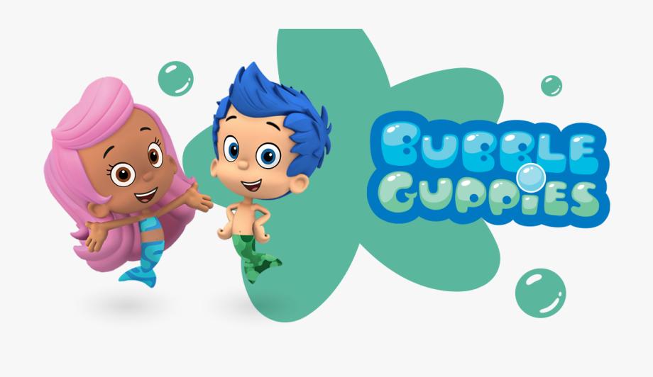 Nick Jr Bubble Guppies Logo, Cliparts & Cartoons.