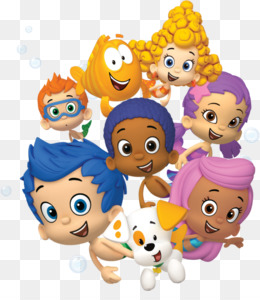 Bubble Guppies PNG.