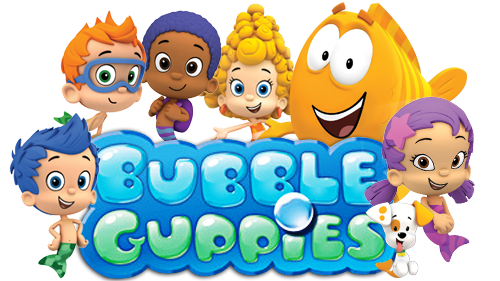 Clipart for u: bubble guppies.