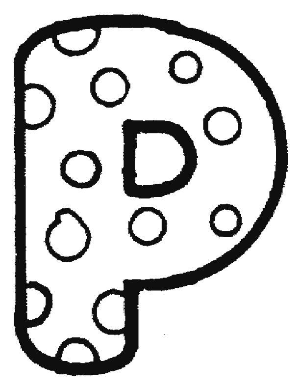Bubble Letter Clip Art.