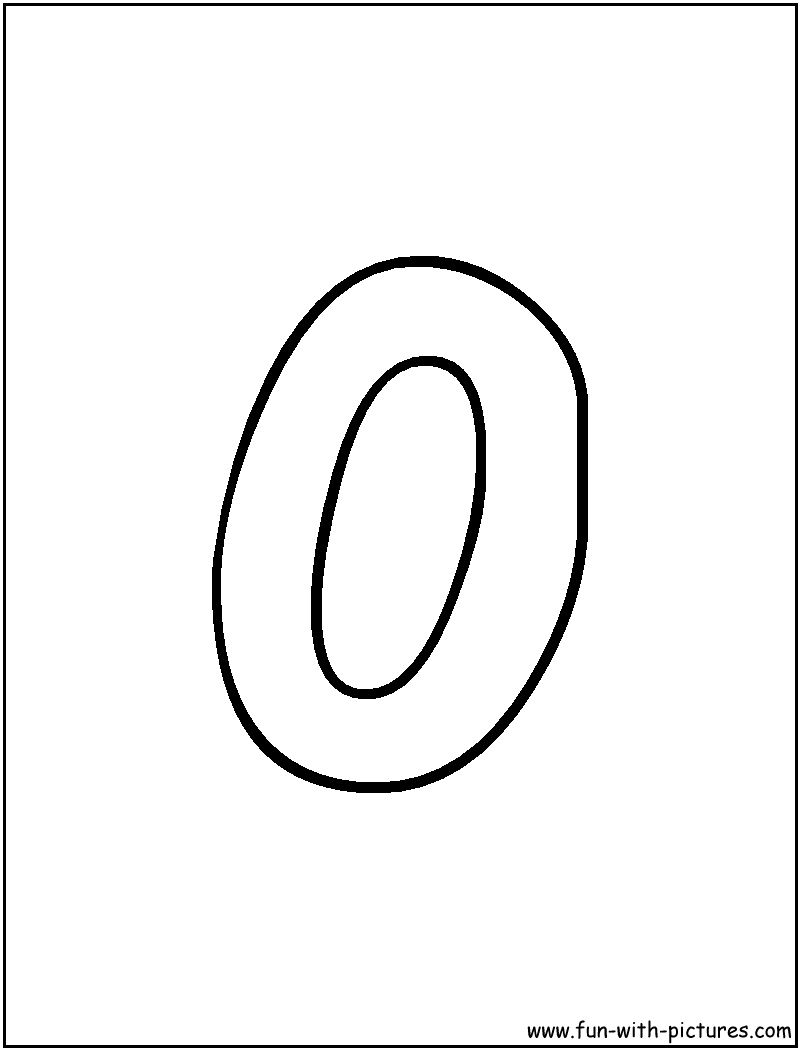 Clipart Bubble Letters For The Letter O.