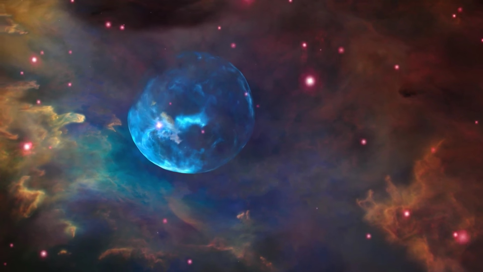 NASA shares incredible image of Bubble Nebula to celebrate.