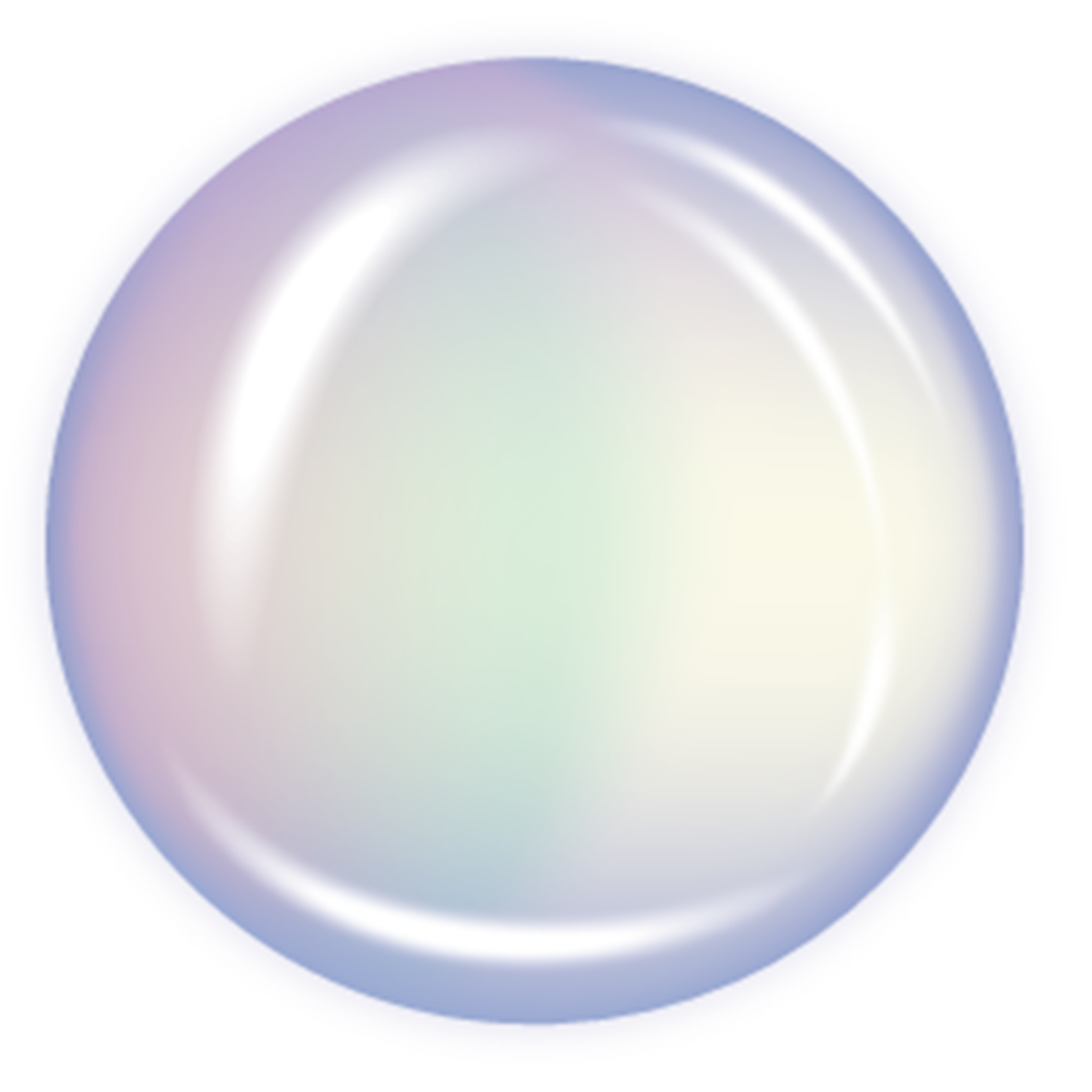 Transparent Bubble Clip Art.