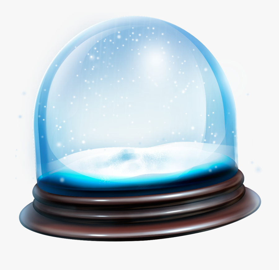 snowglobe #snow #globe #transparent #overlay #bubbles.