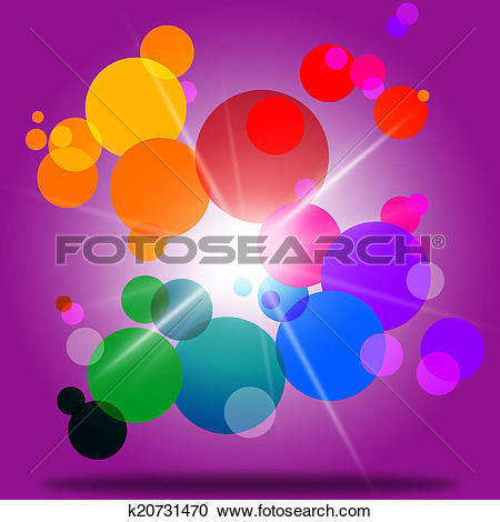 Stock Illustrations of Sphere Color Represents Bubble Ring And.