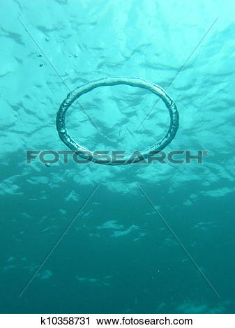 Stock Photography of Bubble Ring k10358731.