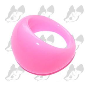 Lucite Bubble Ring.
